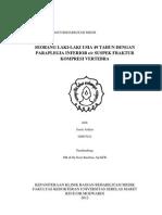 Paraparese Inferior Ec Fraktur Kompresi VT VIII