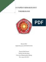 Paper Toksikologi