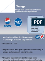 PEPSI-TMC Case on Inclusive Change Management