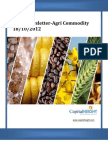 Daily AgriCommodity Report 18-10-2012