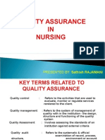 Quality Assurance in Nursing