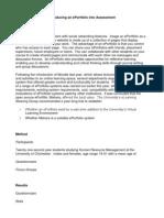ePortfolio Paper.doc