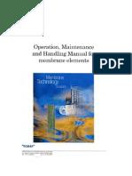 Operation Manual Membranes