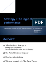 Strategy- The Logic of Superior Performance- Presentation