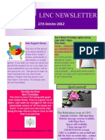 Newsletter 17th Oct 2012