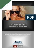 3. SEX a MILOSTNÝ ŽIVOT - AKO ZBALIŤ ŽENU - eBOOK ©  SEDUCTION.SK