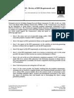 London Economics International study of Maine's renewable portfolio standard