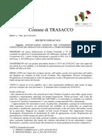 Decreto Del Sindaco Prot. 7062-2012 - Individuazione Unita Staff