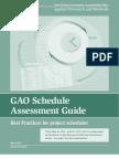 GAO Schedule Assessment Guide