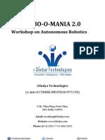 Robo O Mania 2.0 Brochure