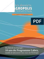 Programme Labex Europe Embrapa 10 Ans Les dossier d'Agropolis International