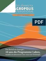 Programme Labex Europe Embrapa 10 Ans Les dossier d'Agropolis International