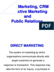 Direct Marketing CRM and Interactive Marketing[1]