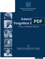 2001 | America's Forgotten Families