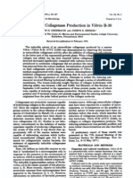 Induction of Collagenase Production in Vibrio B-30