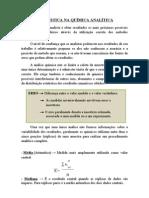 Estatistica Na Quimica Analitica