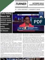 October 2012 E-Newsletter | Senator Nina Turner