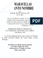 Las Maravillas Del Santo Nombre-P Paul O'Sullivan OP
