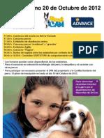 Evento Canino BriCor 20 de Octubre 2012 en Madrid Xanadú