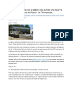 Respuesta Oficial de la Iglesia ASD a los Encarcelamientos