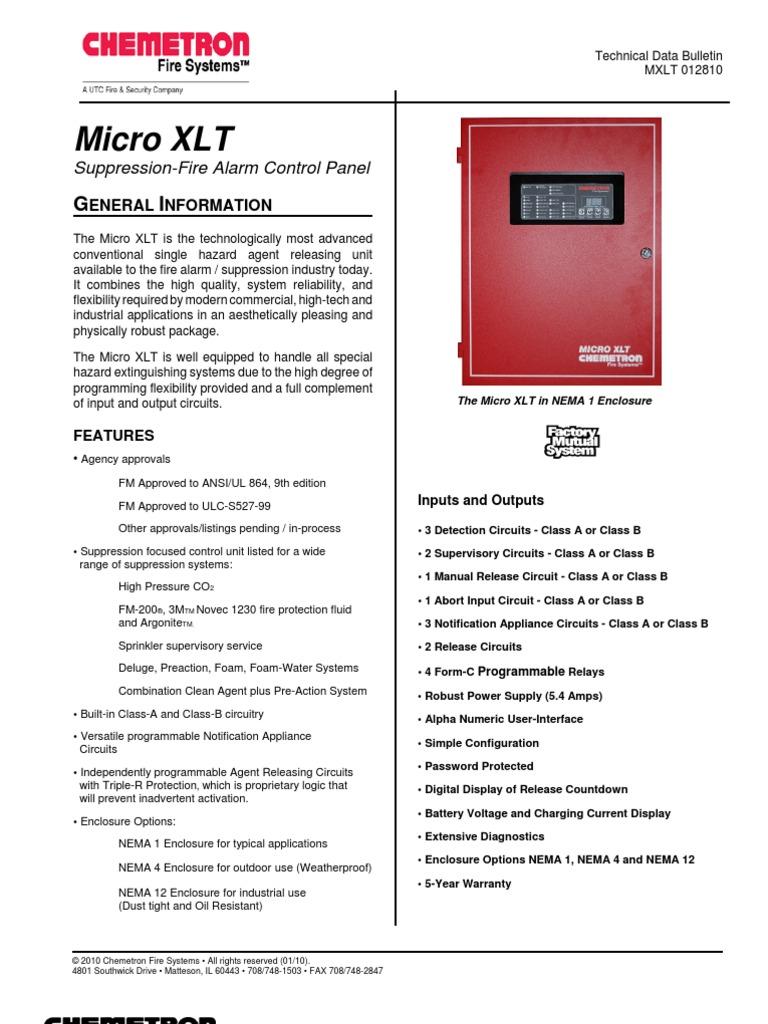 micro xlt relay power supply rh es scribd com Chemetron Fire Systems Chemetron Vacuum Pump