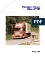 Volvo Operator s Manual VNL and VNM 2001