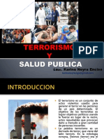 Terrorismo y Salud Publica