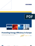 Promoting Energy Efficiency in Europe