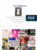 A to Z in Obstetrics Magazine Contribution Dr. K Priya