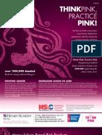 2012 Think Pink, Practice Pink