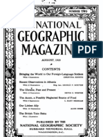 Recent Observations in Albania - The National Geographic Magazine (Aug 1918) - George P. Scriven