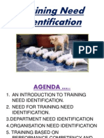 Training Need Identification