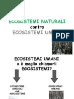 Agrosistemi Contro Ecosistemi Naturali
