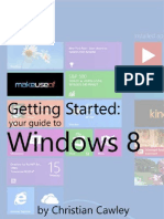 Getting Started Windows 8 Guide
