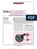 Probe on-wafer Diodes