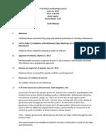 P20 Draft Minutes June 21st, 2012