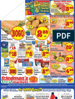 Friedman's Freshmarkets - Weekly Specials - October 18 - 24, 2012