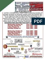 Sigonella Italian Fall Wine Event 2012