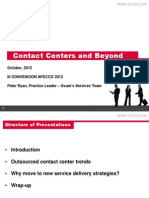 Tendencias mundiales de la industria de Contact Center y BPO