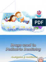 Drugs Used in Pediatric Dentistry