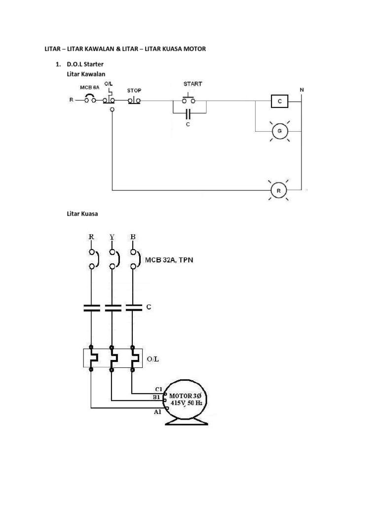 Litar - Litar Kawalan Motor