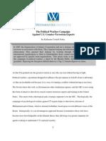 The Political Warfare Campaign Against U.S. Counter-Terrorism Experts