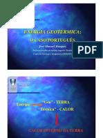 Energia Geotrmica O Caso Portugus