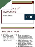 Management Art vs Science