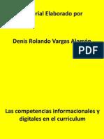 Las Competencias Informacionales y Digitales en El Curriculum