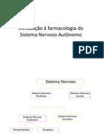 Introdução à farmacologia do SNA