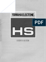 YamahaHsUsersGuide HS 4