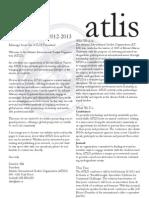 Fall 2012 ATLIS Newsletter