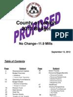 2013 Lehigh County (Pa.) Budget Presentation