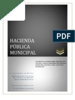 El Derecho y la Hacienda Pública Municipal 2012